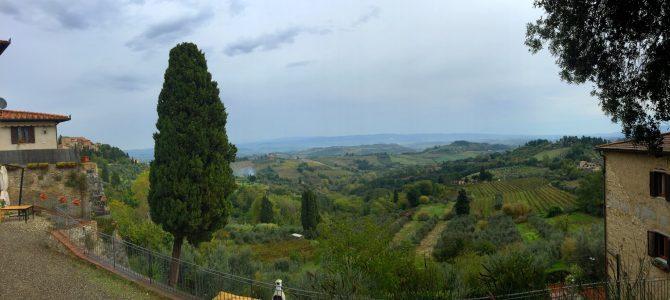 San Gimignano und Assisi