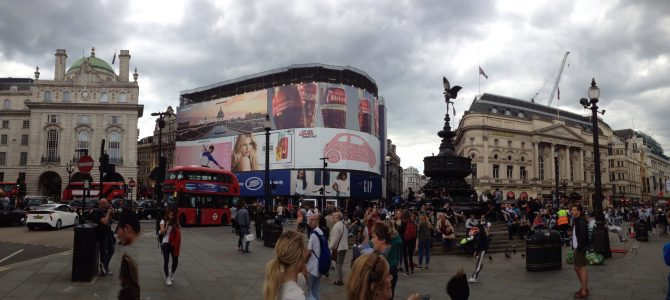 Covent Garden/ Camden Town/ Piccadilly Circus
