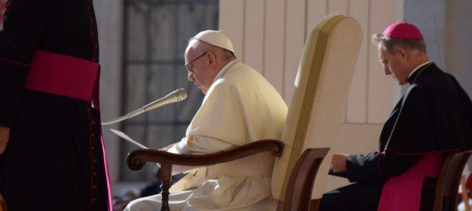 Generalaudienz und Treffen mit St Egidio