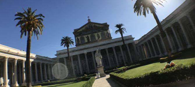 Kolosseum und St. Paul vor den Mauern