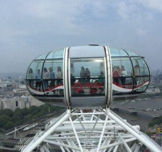 Greetings from London Eye
