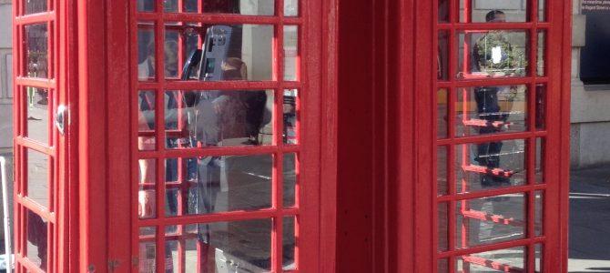 Erste Eindrücke aus London